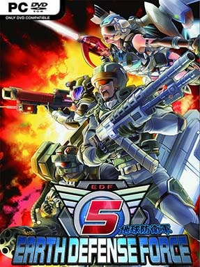 Earth Defense Force 5 Free Download (Incl. ALL DLC's)