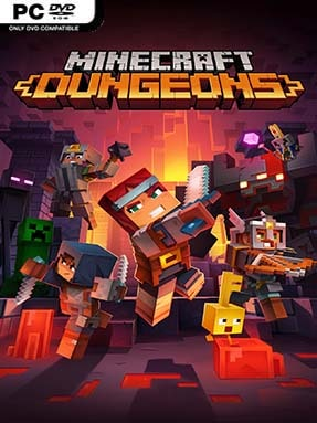 Minecraft Dungeons Free Download (v1.8.0.0 & ALL DLC's)